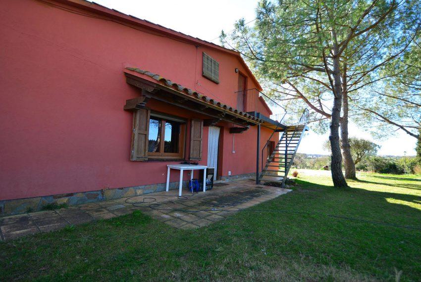 Casa de Campo en el Emporda Fachada Posterior