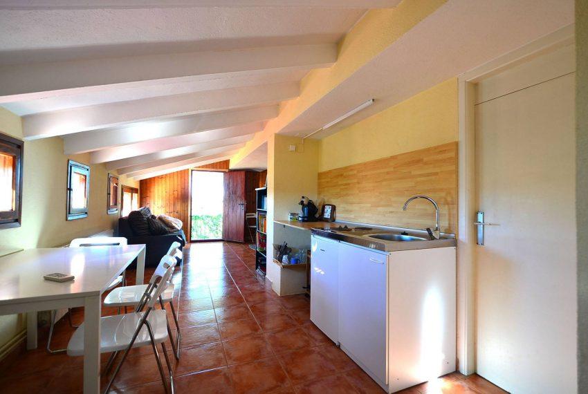 Casa de Campo en el Emporda Cocina Apartamento