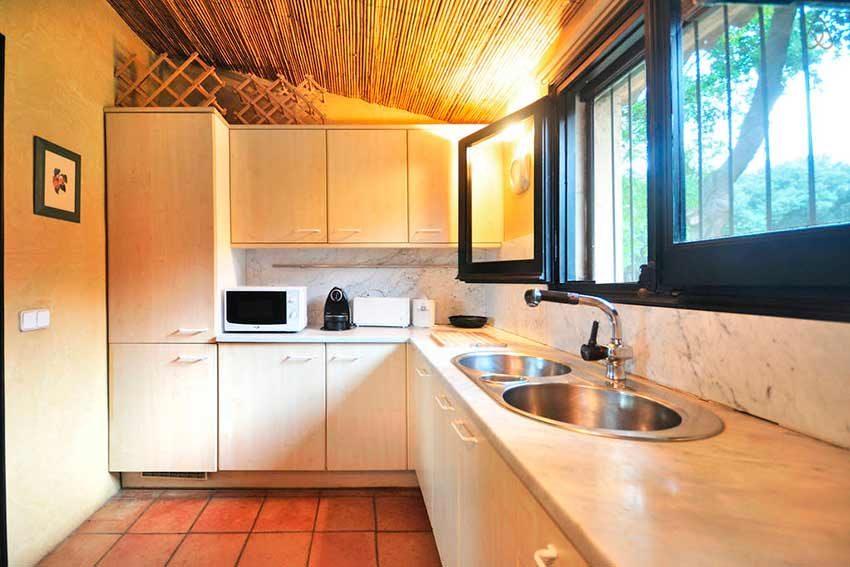 Casa Rural Venta Garrotxa Cocina