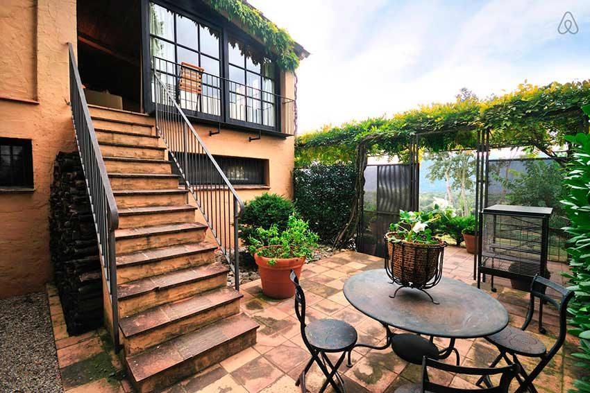 Casa Rural Venta Garrotxa Escaleras