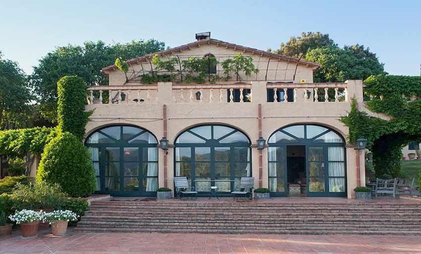 Casa Rural Venta Garrotxa Fachada