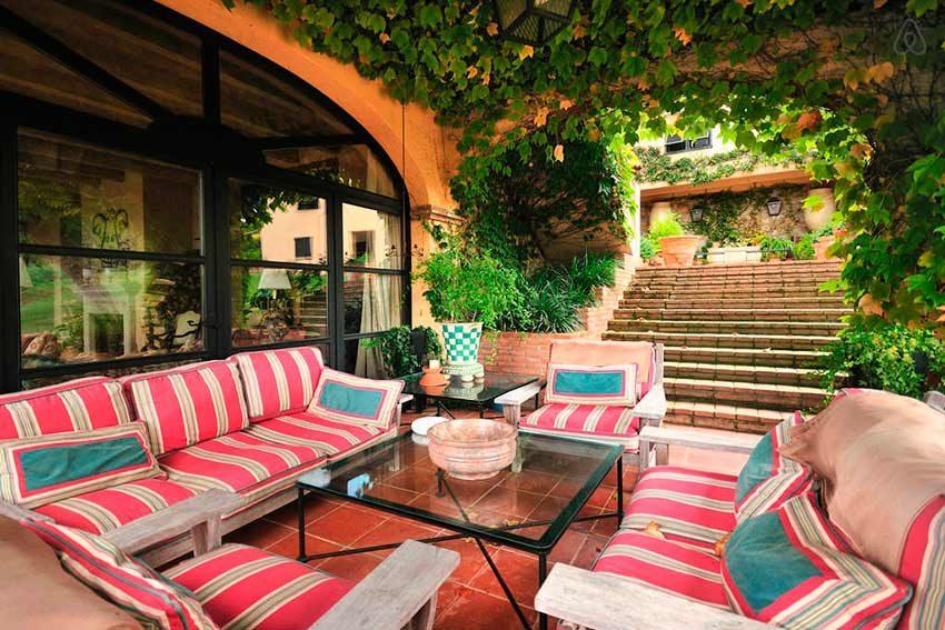 Casa Rural Venta Garrotxa Sofa Exterior