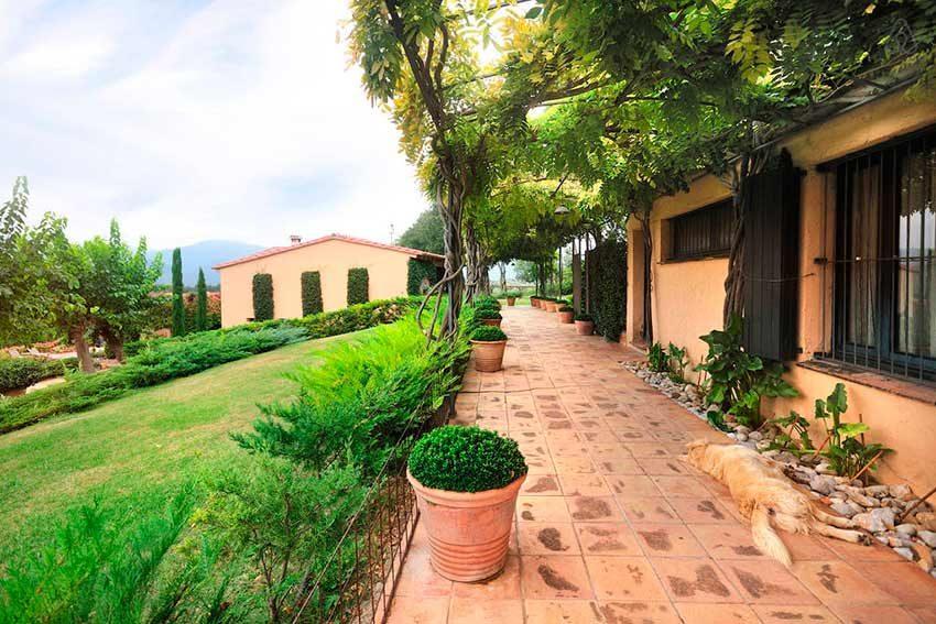 Casa Rural Venta Garrotxa Terraza