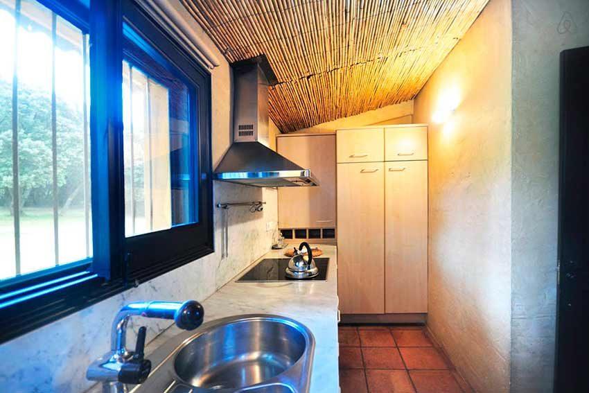 Casa Rural Venta Garrotxa Vista Cocina