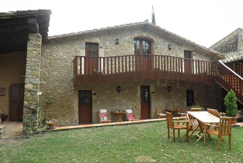 Hotel Rural Pla Estany Fachada