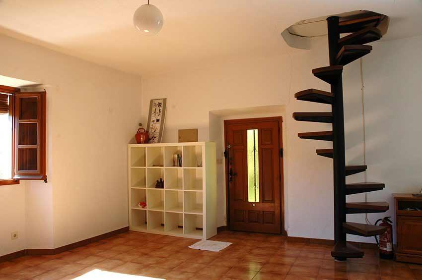 Casa-Rustica-Interior-Emporda-Recibidor